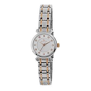 Radley Ladies' Stone Set Two Tone Bracelet Watch - Product number 2780011