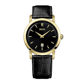 Hugo Boss men's black strap watch - Product number 2781476