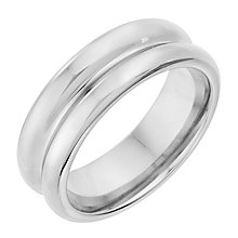 Tungsten 8mm Deep Groove Ring - Product number 2782138