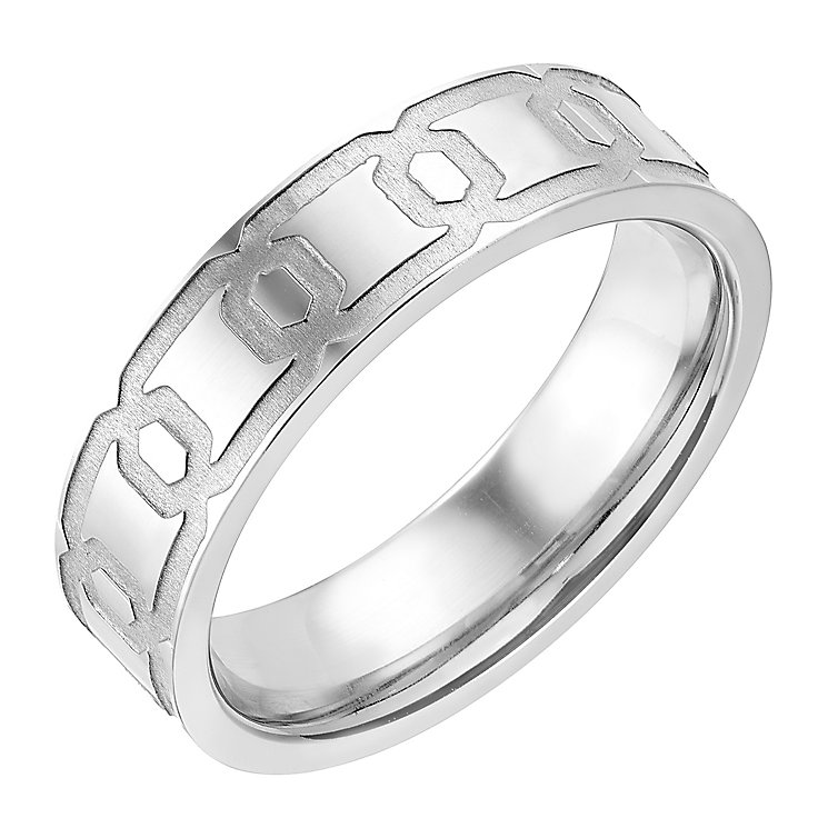 Colbalt Patterned 6MM Ring - Product number 2782669