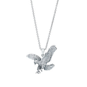 Sterling Silver Eagle Pendant - Product number 2786427