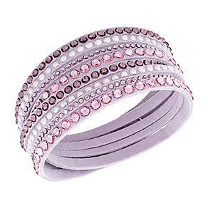 Swarovski Slake crystal light pink bracelet - Product number 2788810