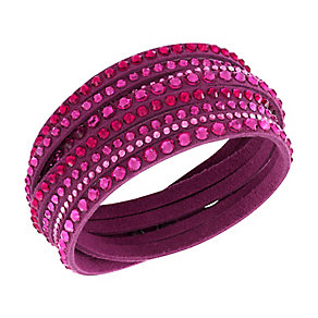 Swarovski Slake crystal  fuschia bracelet - Product number 2788829