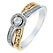 Open Hearts by Jane Seymour 9ct Rose Gold & Diamond Ring - Product number 2789167