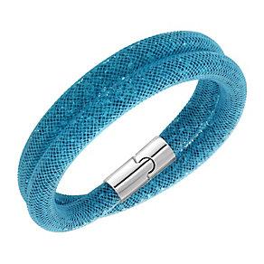 Swarovski Stardust blue double wrap bracelet - Product number 2789345