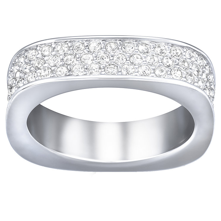 Swarovski pave crystal ring size P - Product number 2789558