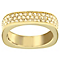 Swarovski gold-plated pave crystal ring size L - Product number 2789620