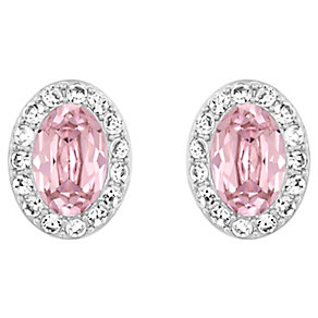 Swarovski Christie pink oval stud earrings - Product number 2789728