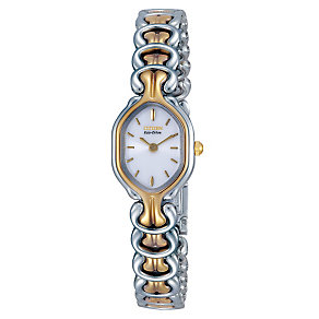 Citizen Eco-Drive Ladies' White Dial Bracelet Watch - Product number 2792702