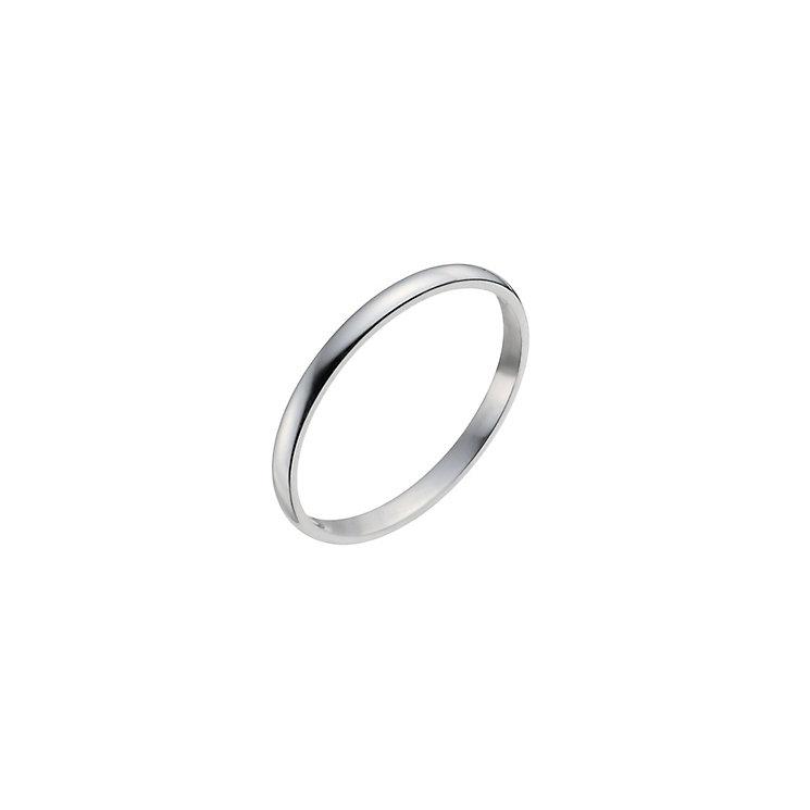 Ladies' Platinum 2mm Wedding Ring - Product number 2793849
