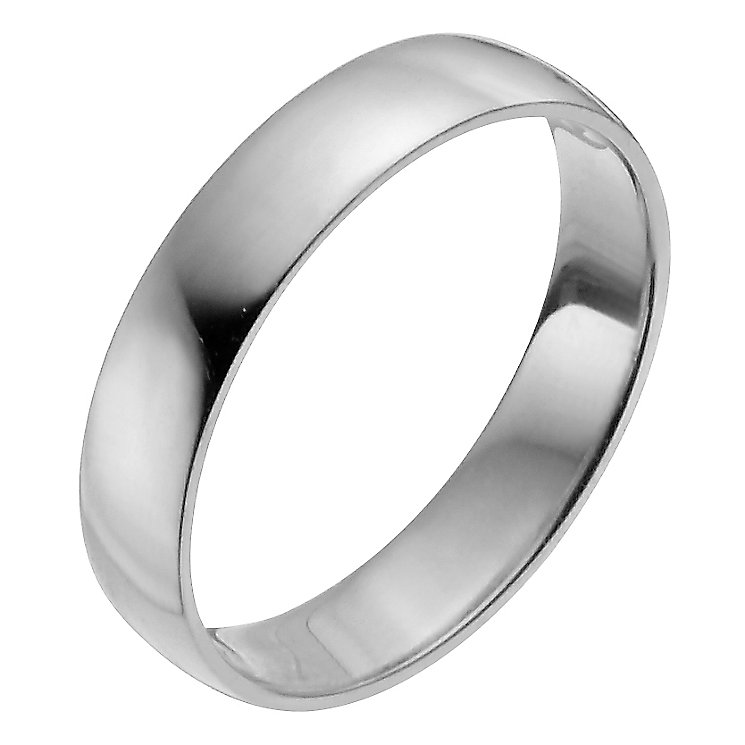 Ladies' Platinum 4mm Wedding Ring - Product number 2794330