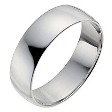 Men's Platinum 6mm Wedding Ring - Product number 2794888