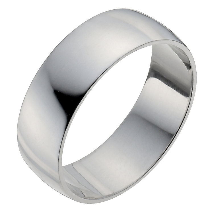Men's Platinum 7mm Wedding Ring - Product number 2795183