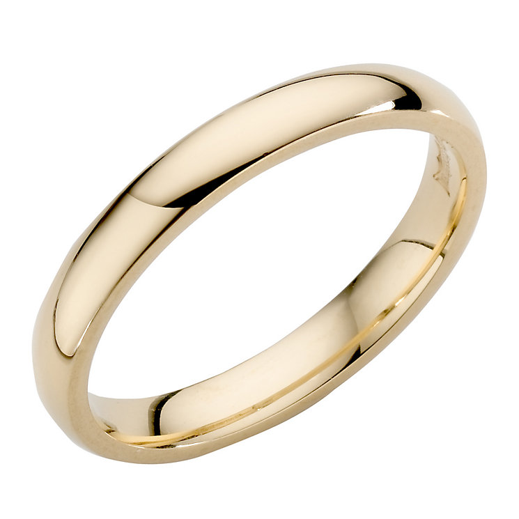 Ladies' 22ct Yellow Gold 3mm Wedding Ring - Product number 2796546