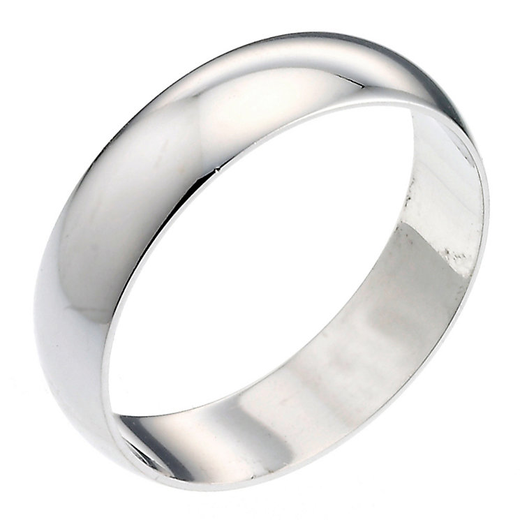 Men's Platinum 6mm Wedding Ring - Product number 2797011