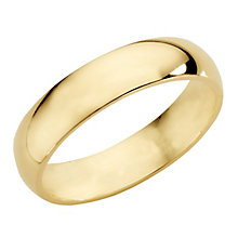 Men's 22ct Yellow Gold 5mm Wedding Ring - Product number 2797313