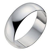 Men's Platinum 7mm Wedding Ring - Product number 2797623