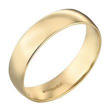 Men's 22ct Yellow Gold 6mm Wedding Ring - Product number 2797933