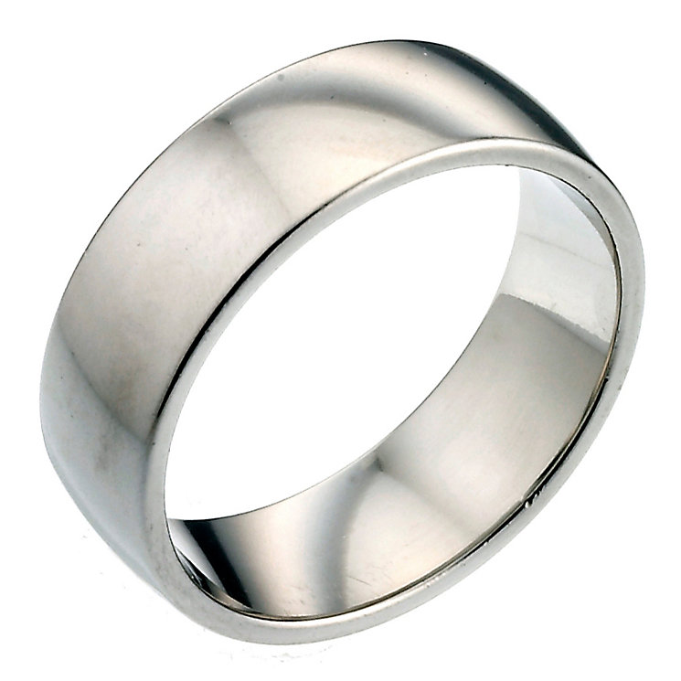 Men's Platinum 7mm Wedding Ring - Product number 2798247