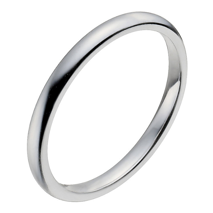 Ladies' Platinum 2mm Wedding Ring - Product number 2798867