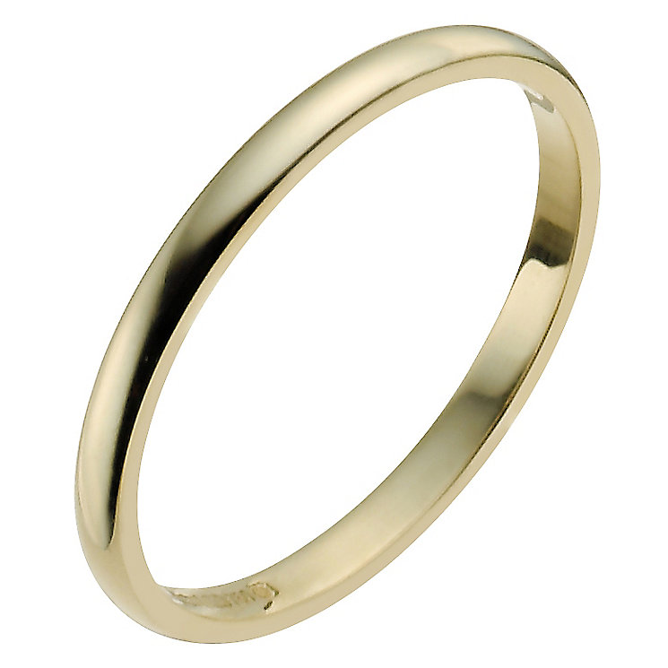 Ladies' 22ct Yellow Gold 2mm Wedding Ring - Product number 2799650