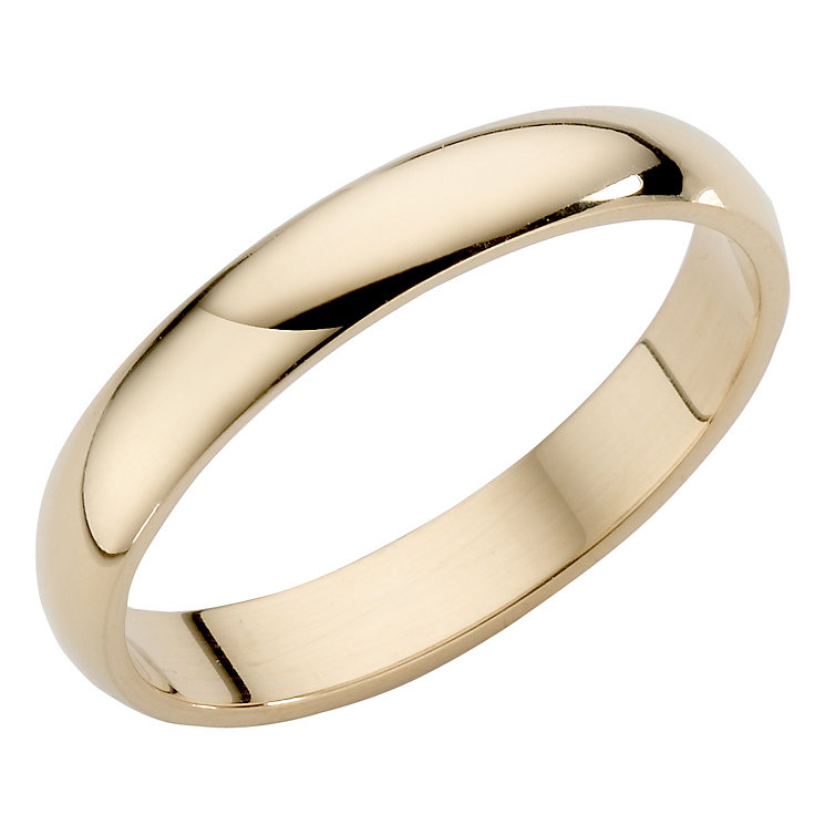 Ladies' 22ct Yellow Gold 3mm Wedding Ring - Product number 2799898