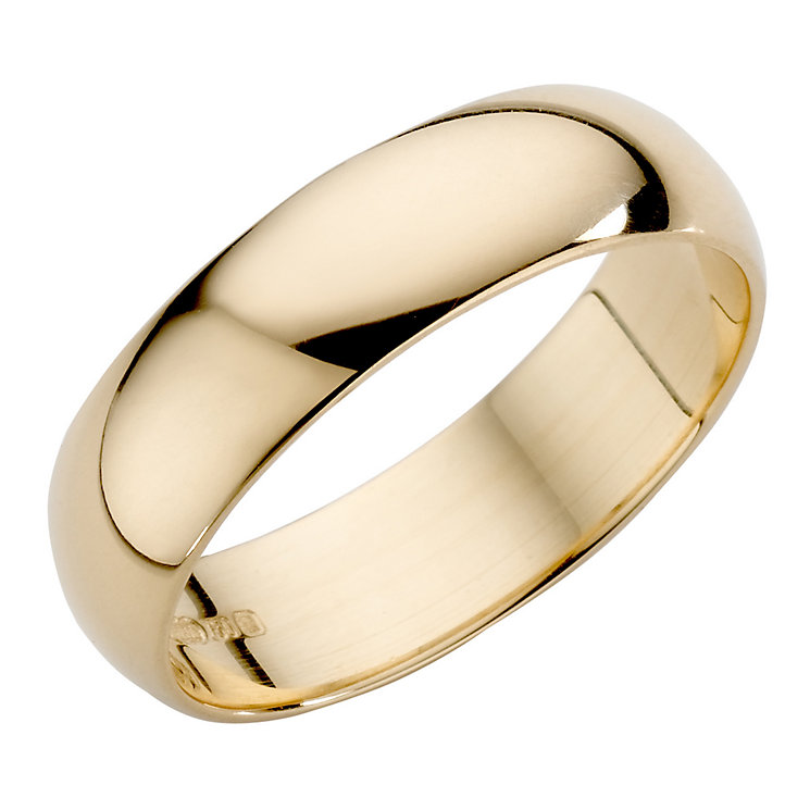 Men's 22ct Yellow Gold 5mm Wedding Ring - Product number 2800373