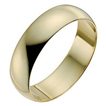 Men's 22ct Yellow Gold 6mm Wedding Ring - Product number 2800683
