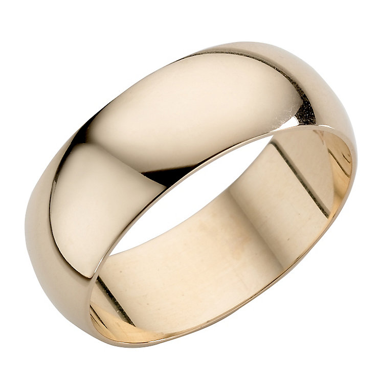 Men's 22ct Yellow Gold 7mm Wedding Ring - Product number 2800993