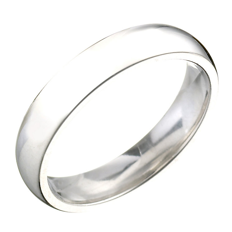 Ladies' Platinum 4mm Wedding Ring - Product number 2801531