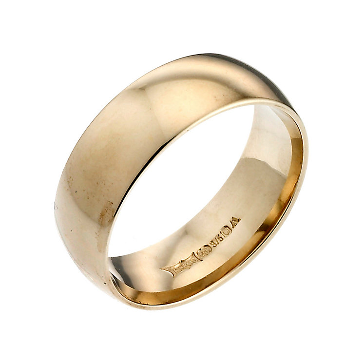 Men's 22ct Yellow Gold 7mm Wedding Ring - Product number 2801795