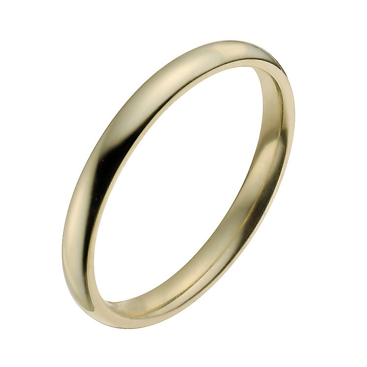 Ladies' 22ct Yellow Gold 2mm Wedding Ring - Product number 2802465