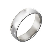 Men's Platinum 6mm Wedding Ring - Product number 2802716
