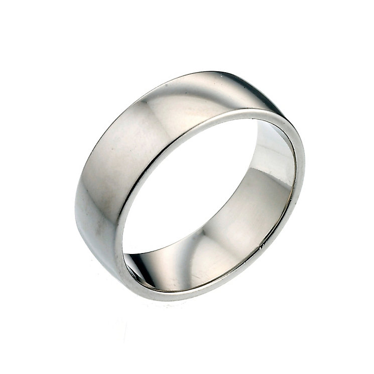 Men's Platinum 7mm Wedding Ring - Product number 2803054