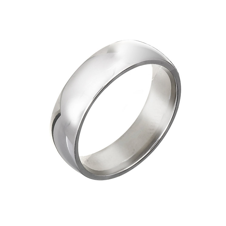 Men's Palladium 6mm Wedding Ring - Product number 2805316
