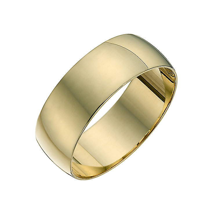 Men's 18ct Yellow Gold 7mm Wedding Ring - Product number 2808285