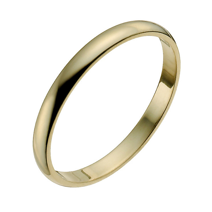 Ladies' 22ct Yellow Gold 2mm Wedding Ring - Product number 2809273