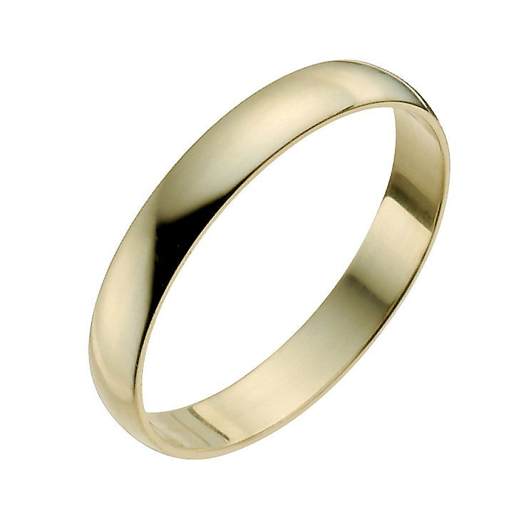 Ladies' 22ct Yellow Gold 3mm Wedding Ring - Product number 2809877