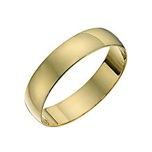 Men's 22ct Yellow Gold 5mm Wedding Ring - Product number 2811537
