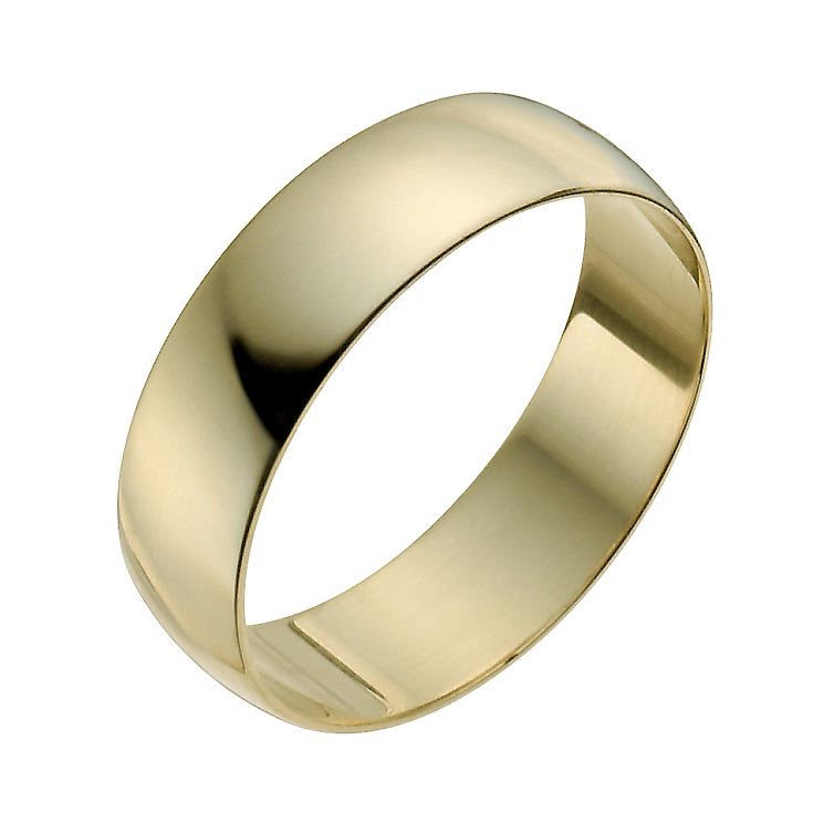 Men's 22ct Yellow Gold 6mm Wedding Ring - Product number 2812282