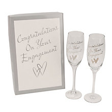 Engagement Champagne Flutes - Product number 2821052