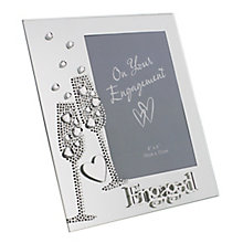 Engagement Champagne Flutes Design 4x6 Photo Frame - Product number 2821079