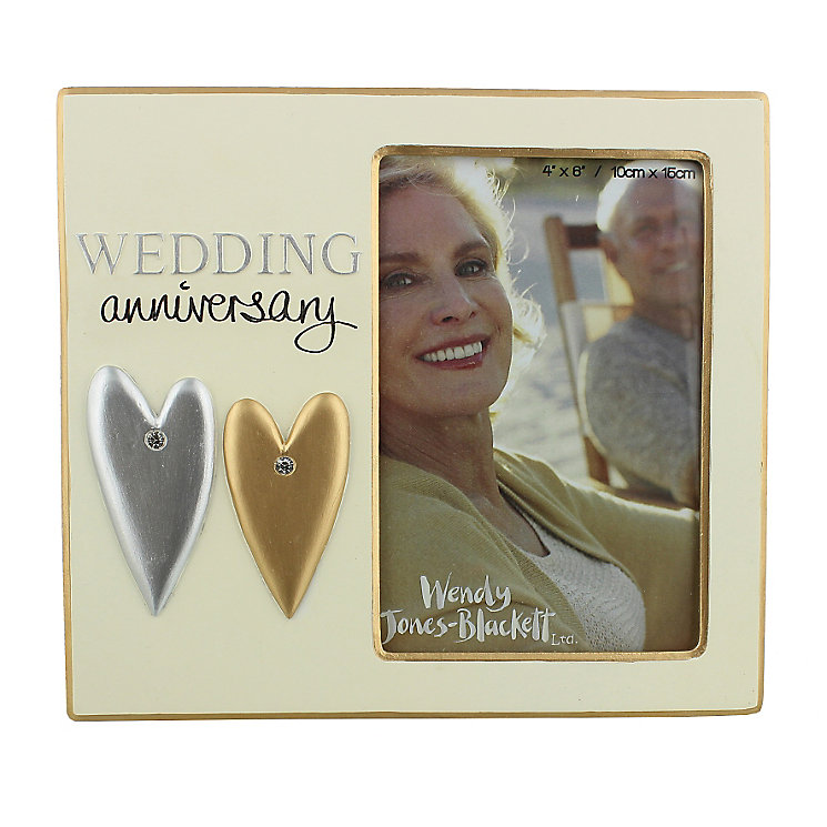 Wedding Anniversary 4 x 6 Photo Frame - Product number 2821168