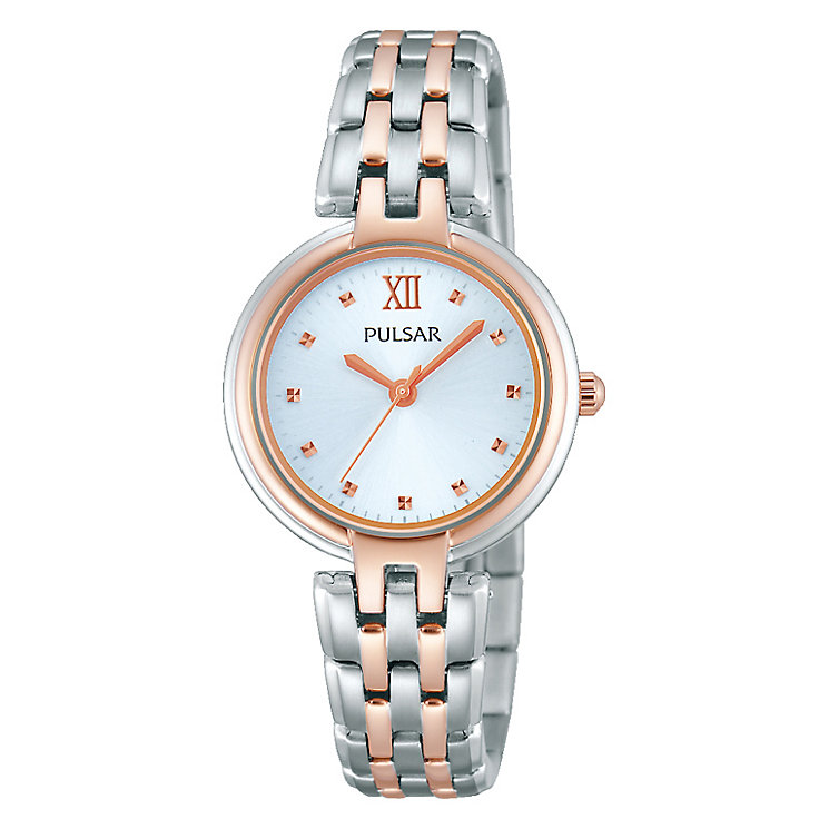 Pulsar Ladies' Two Tone Bracelet Watch - Product number 2825848