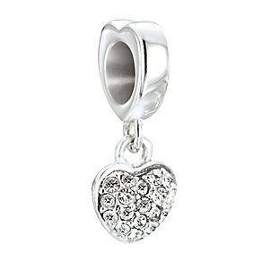 Chamilia Petites Silver & Swarovski Elements Heart Bead - Product number 2826275