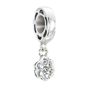 Chamilia Petites Silver & Swarovski Crystal Rosette Bead - Product number 2826283
