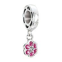 Chamilia Petites Silver & Swarovski Crystal Rosette Bead - Product number 2826291