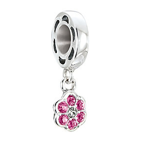 Chamilia Petites Silver & Swarovski Crystal Rosette Bead - Product number 2826291