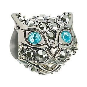 Chamilia Silver & Swarovski Crystal Kotya Cat Bead - Product number 2826658