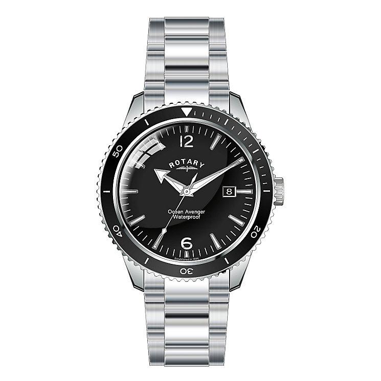 Rotary Men's Ocean Avenger Stainless Steel Bracelet Watch - Product number 2826844
